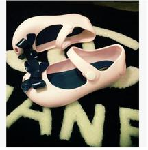 kids shoes boys girls Children's sandals new children sandals bowknot sandals jelly fish mouth female children's shoes 4372