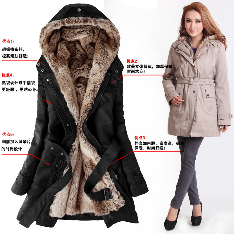 Images of Warm Womens Winter Coats - Reikian