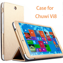 High Quality Fashion Leather Case For Chuwi Vi8 Case Luxury 8.0 inch Flip Cover For Chuwi Vi8 Cover Tablet PC Shell