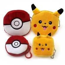 New 2016 pokemon go  Children Coin Purse/Coin Bag/Lady Cute Wallet Pouch/Women Girl Makeup Buggy Bag/Free Shipping