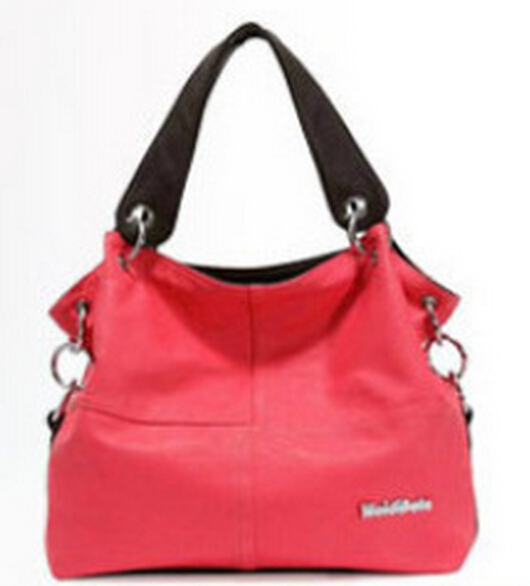 2015 new women messenger handbags women fashion shoulder bags ladies pu leather bag(China (Mainland))