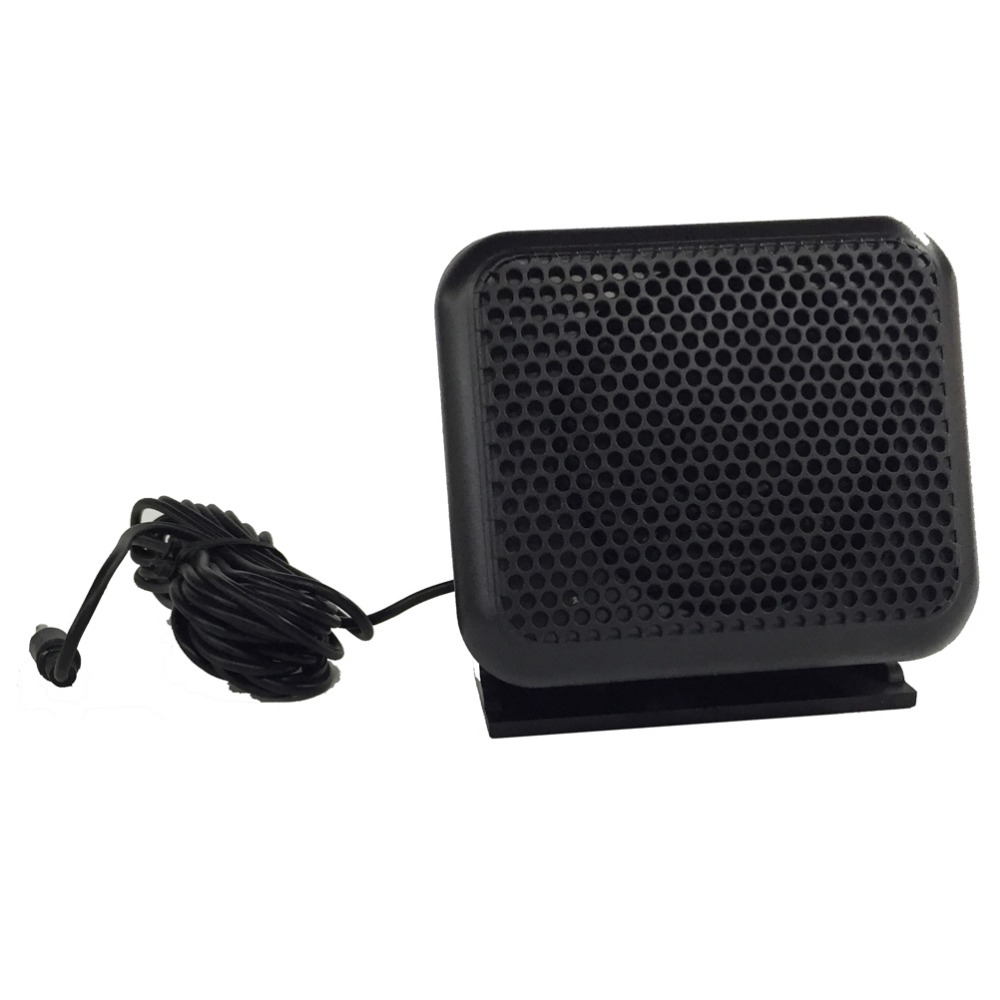 New CB Ham Radios Mini External Speaker NSP-100 For Kenwood Motorola ICOM Yaesu Walkie talkie(China (Mainland))