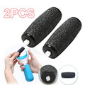 2Pcs Feet care tool Heads Pedi Hard Skin Remover Refills Replacement Rollers For scholls size