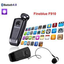 Mini Controlador Inalámbrico de Auriculares Bluetooth Auriculares Fineblue F910 Audifonos Desgaste Vibración Clip Estéreo Deporte de Auriculares