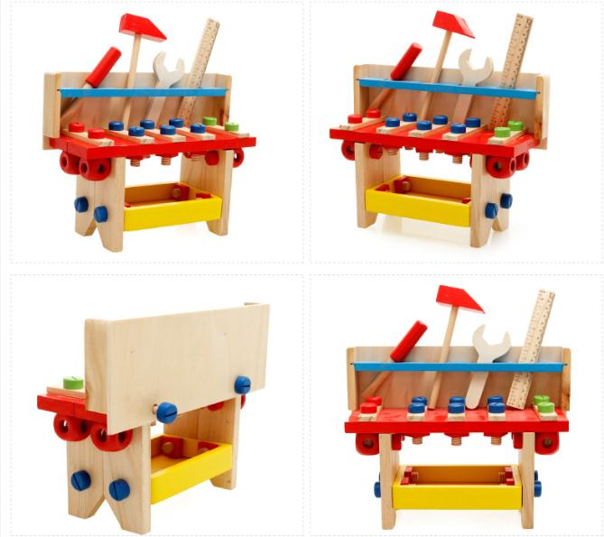 Free Shipping Children S Kids Wooden Classic Toy Puzzle