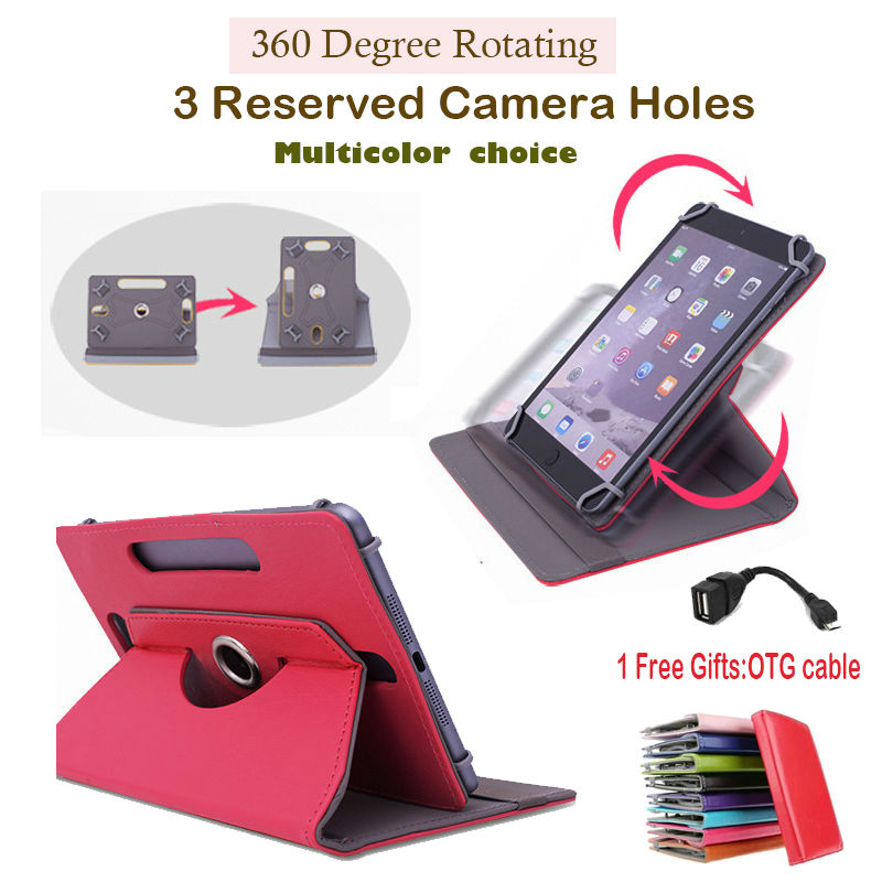 For Fujitsu STYLISTIC M532 32Gb VFY:M53200MPAD1IN 10.1 inch 360Degree Rotating Universal Tablet PU Leather cover case(China (Mainland))