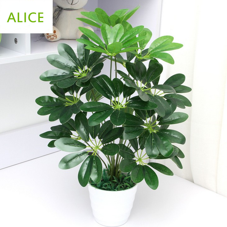 Artificial Plants Living Room Hotel Office Put Small Decorative Potted Bonsai 45cm18 Ye Money