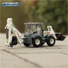 Free shipping KAIDIWEI 1:50 Two-way Forklift Bulldozer Excavator Alloy Model Toys Construction Vehicle(China (Mainland))