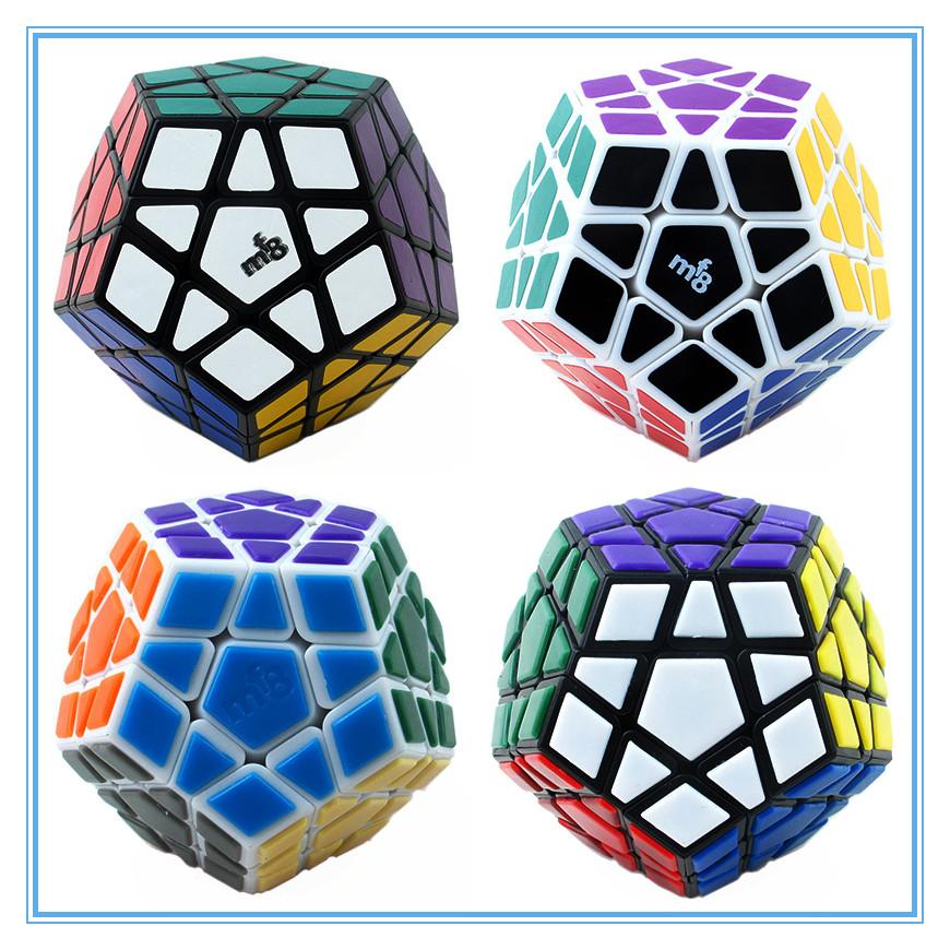 MF8 Megaminx(v3) Cube Puzzle White And Black Learning&Educational Cubo magico Toys(China (Mainland))