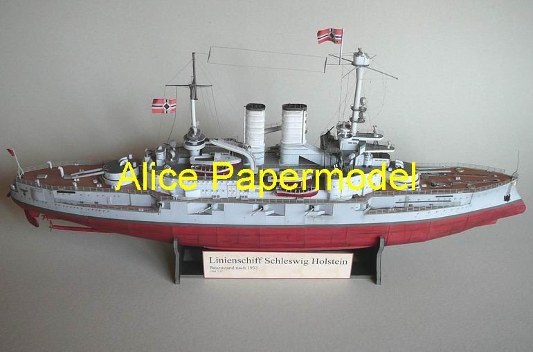Schleswig Holstein Battleship Schleswig Holstein Ship