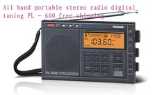 All band portable stereo radio digital tuning PL – 600 free shipping