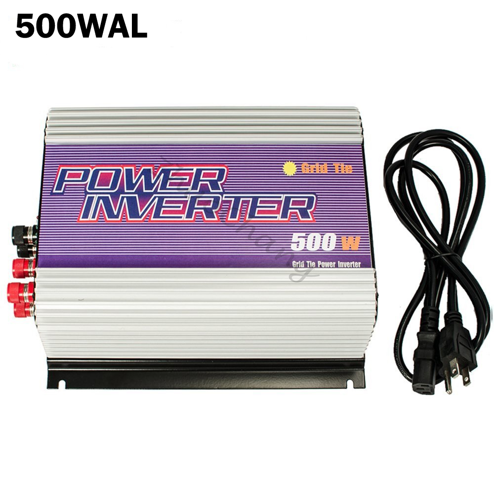 500W Grid Tie Power Inverter for 3 Phase AC Output Wind Turbine Generators MPPT Pure Sine Wave Inverter with Dump Load Resistor(China (Mainland))