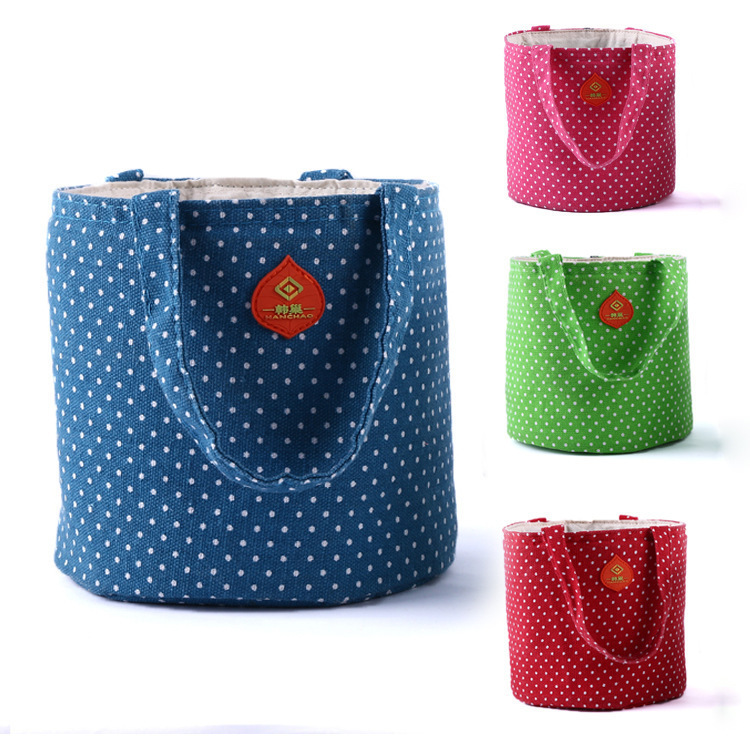 new authentic microwave lunch box package fashion environmental protection seal ice bag picnic Storage Pouch Handbag(China (Mainland))