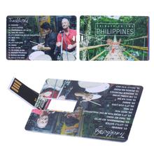Venda quente personalidade cartão De Crédito em forma usb 2.0 Flash Drives 8 GB Memory Stick Unidade Festival Thumb/Car/Pen Presente impressão do logotipo(China (Mainland))