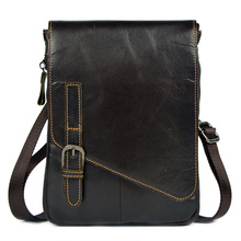genuine leather small messenger bags for men cowhide shoulder bags waist pack new style handbags male ipad mini tablet PC bags(China (Mainland))