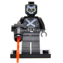Captain America 3 Civil War Minifigures Crossbones Single Sale Building Block Marvel Super Heroes Set Models Figures Toys