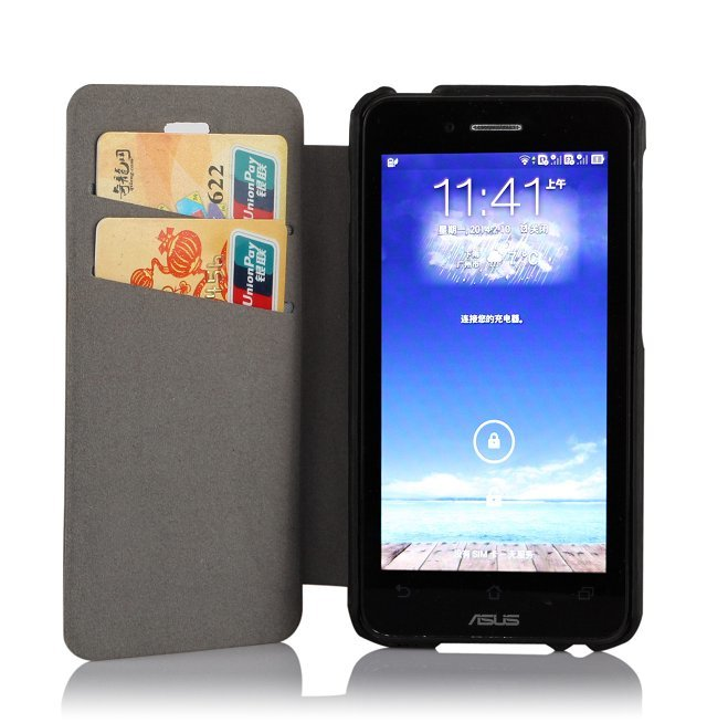 asus padfone mini 4.3 inch leather mobile phone case, PU Leather cover skin case - Raincoo Industrial Company Limited store