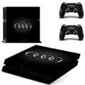PS4 Sticker Batman Game Decal Skin Stickers For Playstation 4 PS4 Console and 2 Pcs Stickers For PS4 Controller