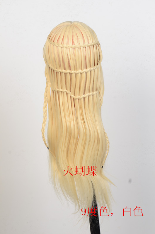 "61% off 20"" Light Golden Hair Models Made Wigs Female Mannequin Head Display Training Head For Hairdressers(China (Mainland))"