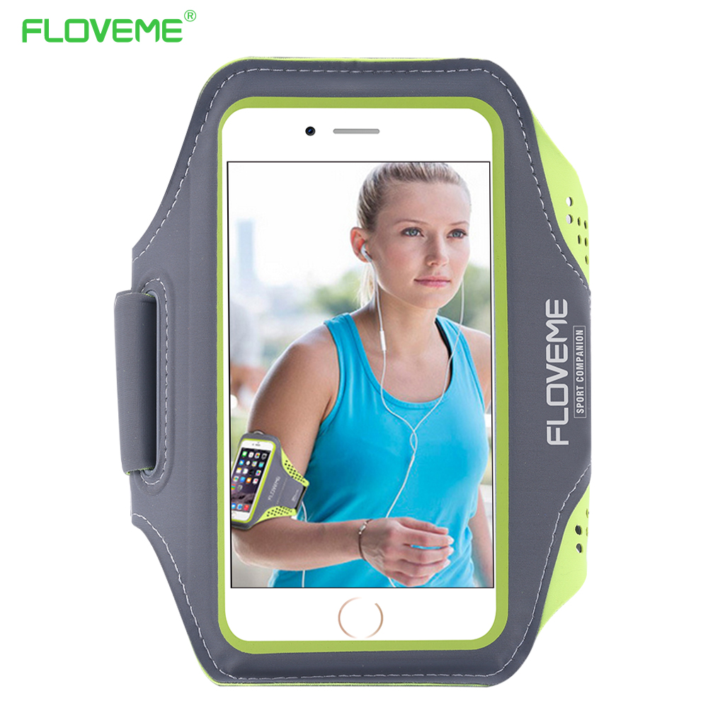 FLOVEME Universal 4.7'' Screen Phone Sport GYM Running Bag Case for iPhone 6 /6s Waterproof Arm Band Mobile Phone Belt Cover(China (Mainland))