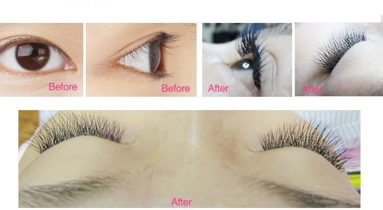 New 0.07 C 3d eyelash Natural soft long mink eyelash W Lash False Eyelashes Eye Lash Extension mix length 6mm-12mm