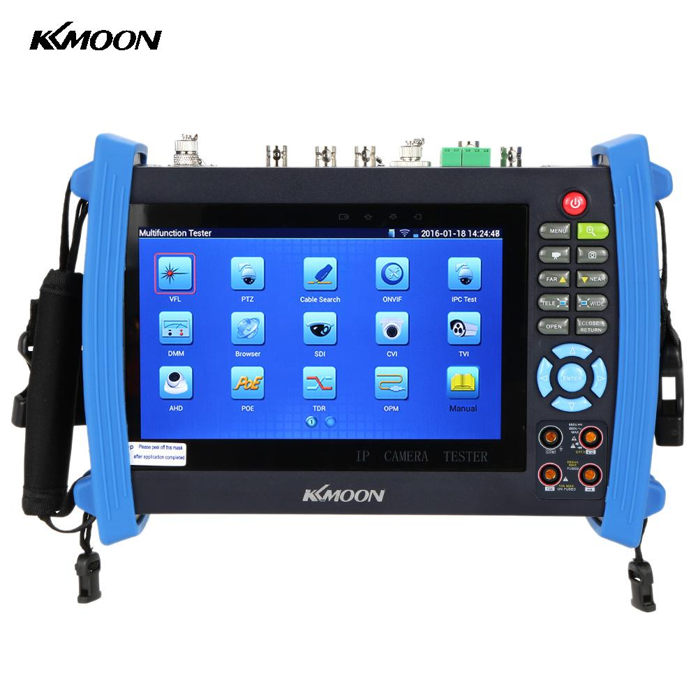 "KKmoon 7"" IP Camera Tester IPC-8600MOVTSADH 1080P Touch CCTV IPC Tester PTZ Control WIFI Onvif Monitor Tester AHD Camera Test(China (Mainland))"