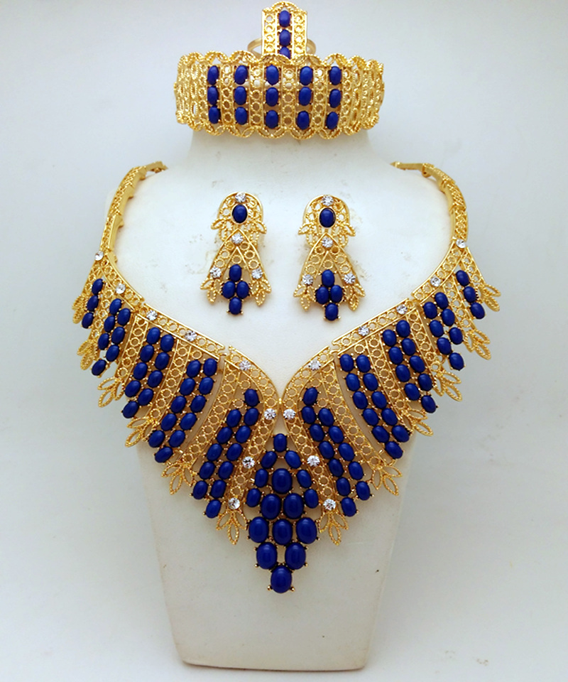 2016 top quality fashion african costume jewelry sets for Top fashion jewelry designers