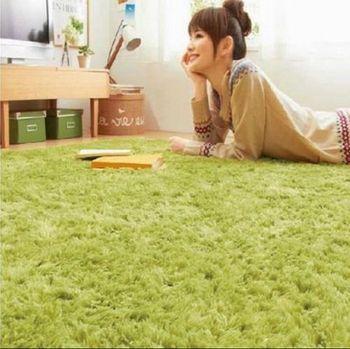 Длинные плюшевые ковер 5 размер дети мягкий лохматый коврик скольжению дверь коврик для спальни гостиной
