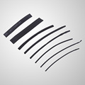 High Quality 8Pcs Lot Heat Shrink Tube Tubing Assortment Kit Sleeving Wrap Wire Electrical Cable 1