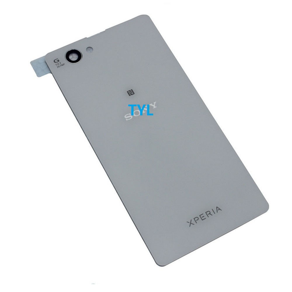 Original Back Cover Housing Sony Xperia Z1mini Z1 Compact D5503 Battery Door Glass - TYL Electronics Limite store