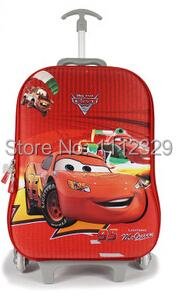 3D EVA Kids trolley bags cartoon design 95 car luggage school BAG 11 - Merry Weather Store store