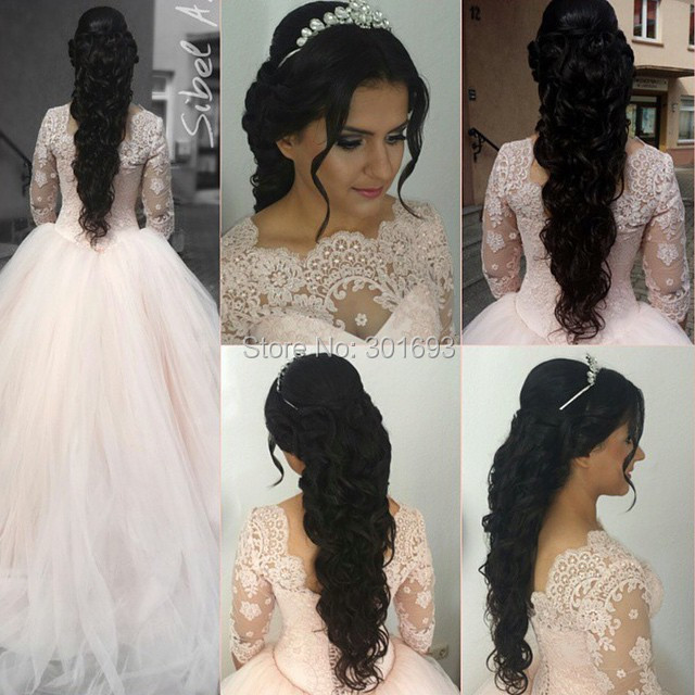 Bling Wedding Dresses Pink Pink Wedding Dresses 2015