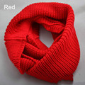 2016 New Fashion Charming Unisex Womens Mens Winter Warm Infinity 2 Circle Cable Knit Cowl Neck