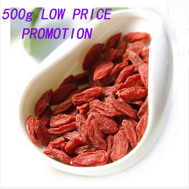 Goji berries 500g China Wolfberry Organic Top grade Quality pure Dried Goji berry for definite health care benefit free shipping(China (Mainland))