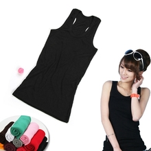 Fashion Slimming Vest Cami Racerback Sando Shirt Tank Grey freeshipping