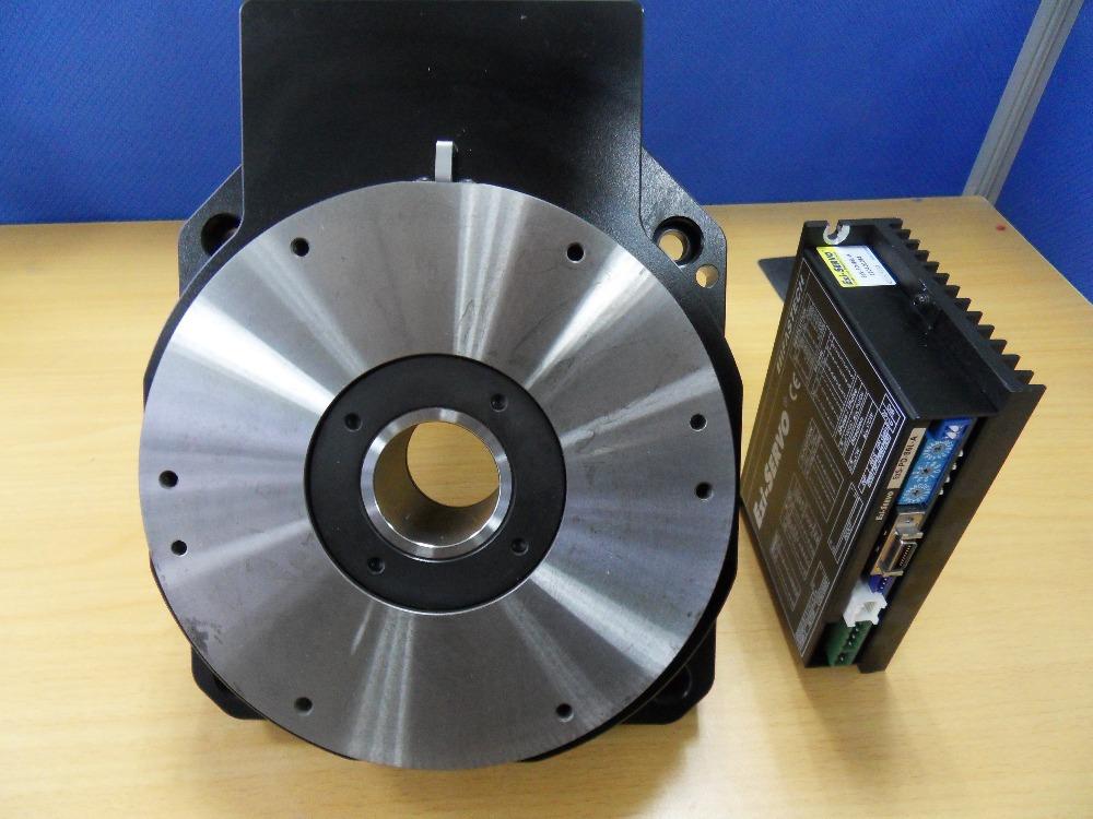 South korea fastech hg200 stepper motor close loop hollow for Large motorized rotating platform