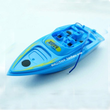 White and Blue Ready To Go Mini Bait Fishing Boat High Speed Racing RC RTF Charging Boat Waterproof Remote Control Outdoor Toys(China (Mainland))