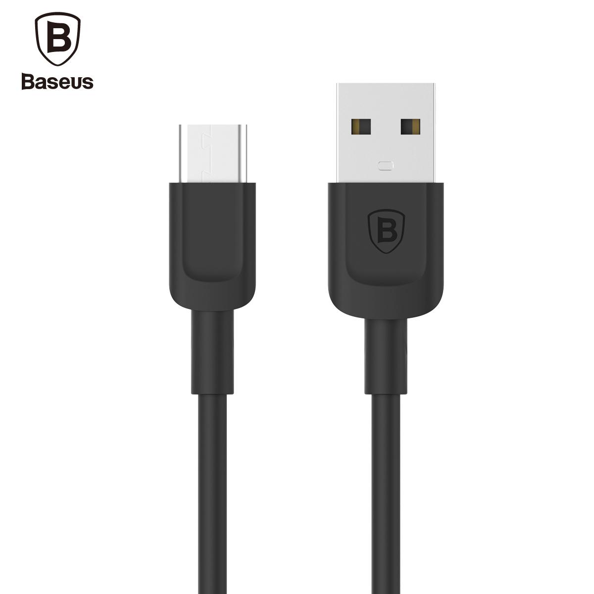 Baseus USB Type C Cable For Xiaomi Mi5 Mi4c LG Nexus 5X 6P Meizu pro 5 Oneplus 3 2 Fast Data USB Charger USB C 3.1 Type-C Cable