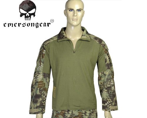 Airsoft Tactical Emerson EM8575 G3 Combat Shirt Outdoor Sports Long Sleeve Shirt Military Casual Army Hiding T-shirt MR