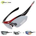 Rockbros Mountian Bike Cycling Sunglasses 5 lens Outdoor Sports Bicycle Sun Glasses Bike Goggles Eyewear Oculos