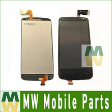 1PC /Lot  LCD Display +Touch Screen Assembly  Digitizer  For HTC Desire 500 Free Shipping
