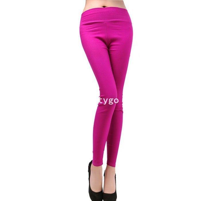 Slim Taille Haute Noir Slim Pantalon Taille Haute