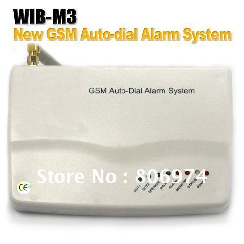 Alarms Adopt GSM Communicator No Distance Limit To Alarm Support GSM/CDMA Mobile Phone M3