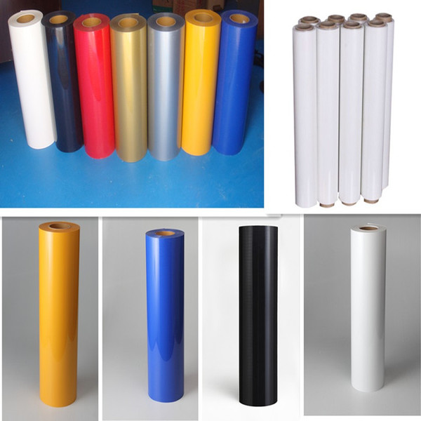 0.3X0.5M PU Heat Transfer film IRON-ON Heat Transfer Vinyl for all cuting machines(China (Mainland))