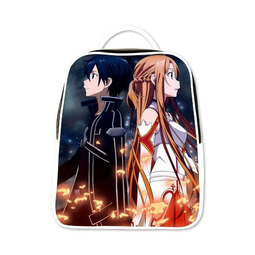 Sword Art Online Cosplay Fashion School Bag Backpack 6 Colors