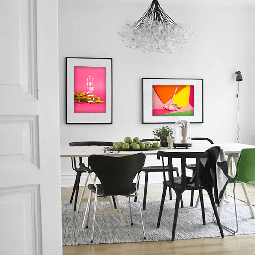 buy modern poster pop art colourful art deco paintings tableau decoration wall. Black Bedroom Furniture Sets. Home Design Ideas
