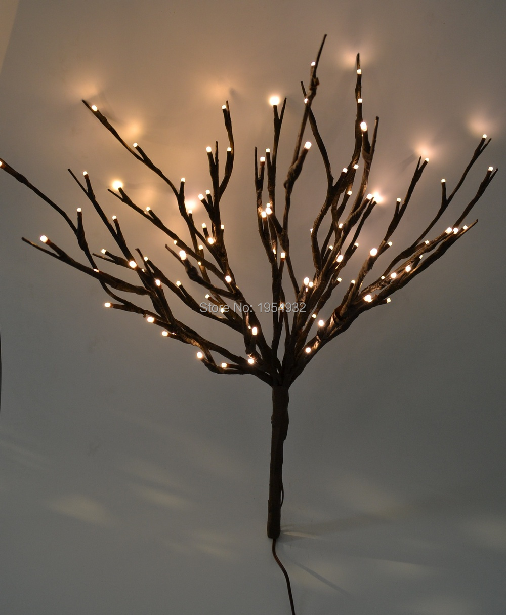 Led Lighted Twig Branches 100 Led Pre Light Twig Branch Artificial Tree Willow Branches Lamp For Home Holiday Party Decoration Christmas Branches Decorative Twigswedding Branches Aliexpress