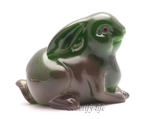 Buy Green Rabbit, Lucky Charms, Chinese zodiac, Shenxiao,Allochroic Mascot, Ornament,newness gifts, Tea pet, S1051A for $20.92 in AliExpress store