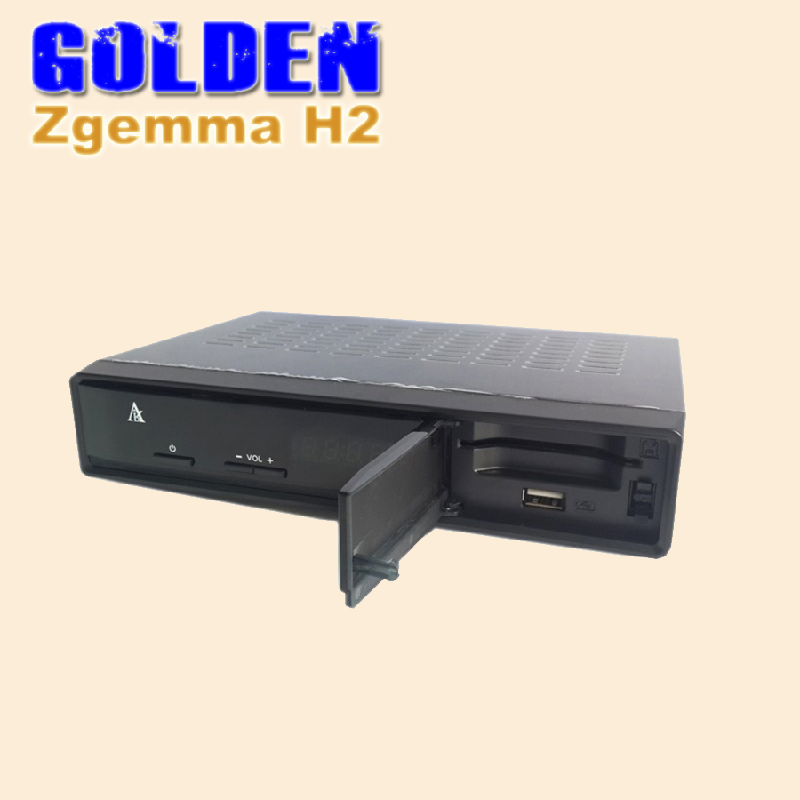 20pcs New! satellite reciever Zgemma star H2 751MHZ twin tuner DVB-S2+T2 Enigma2 Linux Zgemma-star H2 replace Cloud ibox III se(China (Mainland))