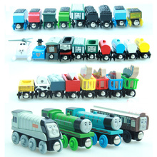 10PCS/LOT New Thomas and His Friends Anime  Wooden Railway Trains Toy  Model Great Kids Toys  for Children Christmas Gifts(China (Mainland))